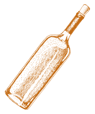 Italian Wine Bottle - The Fat Tuscan Gainesville, FL.